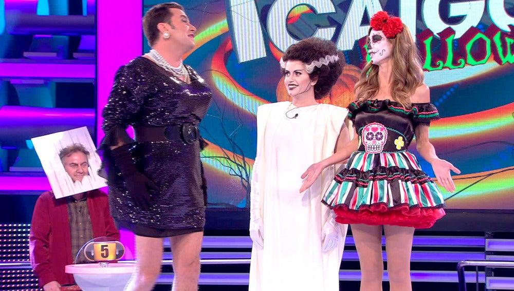 El lunes, especial 'Ahora Caigo' Halloween en Antena 3