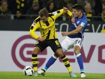 El Dortmund no pudo con el Schalke en casa