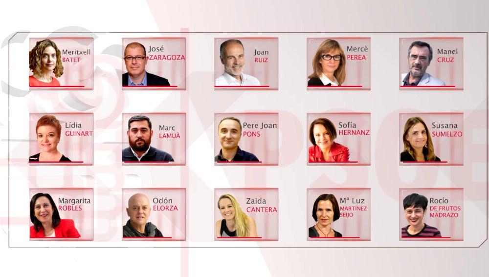 Los 15 diputados díscolos del PSOE que han roto la disciplina de voto