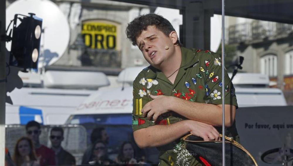 El rapero Arkano intenta batir el actual récord del mundo, más de 24 horas y 15 minutos de rimas improvisadas