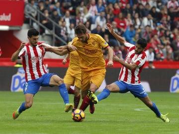 El Mudo Vázquez, contra el Sporting