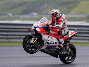 Dovizioso logra su primera victoria con Ducati y la segunda en MotoGP