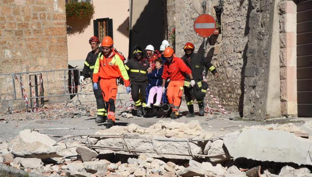 Las consecuencias del terremoto en Italia