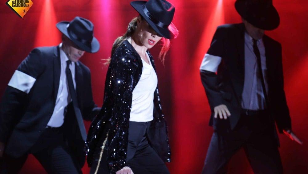 Pilar Rubio arrasa con su coreografía de 'Billie Jean' Michael Jackson