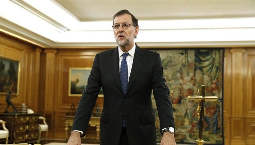 Mariano Rajoy jura su cargo como presidente del Gobierno
