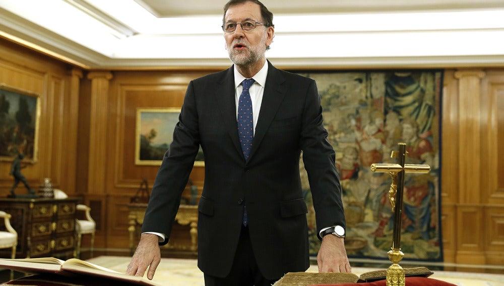 Mariano Rajoy jura su cargo