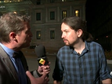 "Frame 172.516352 de: Wolfgang Maier a Pablo Iglesias: ""Qué opina de los insultos de Albert Rivera"""