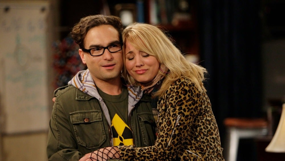 Leonard y Penny de 'The Big Bang Theory'