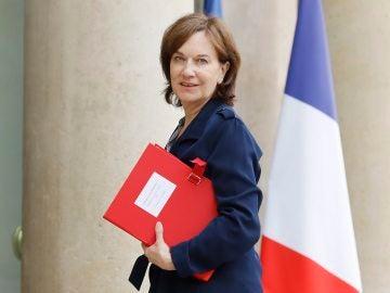 La ministra de Familia, Infancia y Derechos de la Mujer gala, Laurence Rossignol