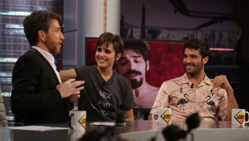 """Álex García: """"Verónica es la actriz más talentosa con la que he trabajado"""""""