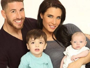 Pilar Rubio, Sergio Ramos y sus hijos