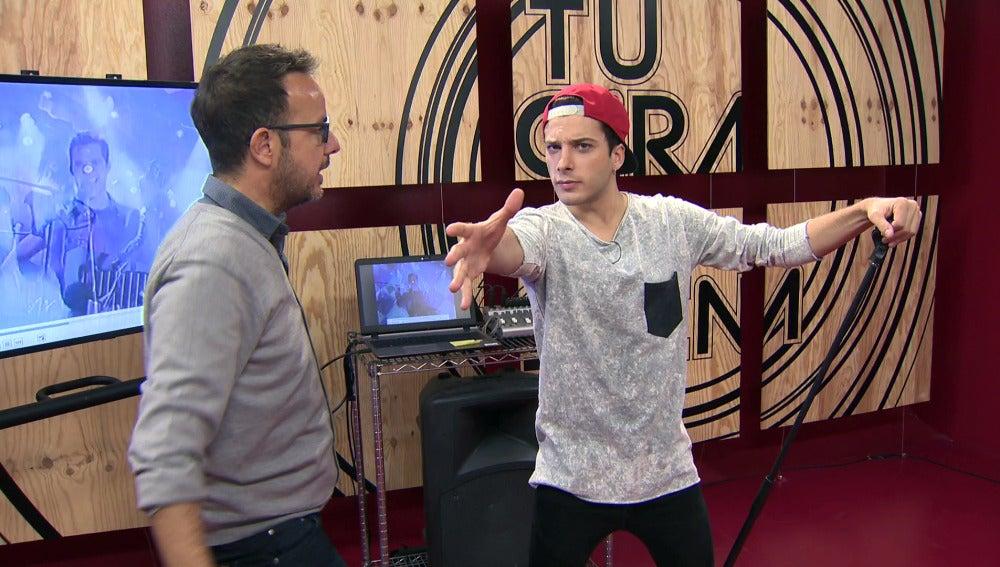 Blas Cantó saca el Ricky Martin que lleva dentro con movimientos desenfrenados