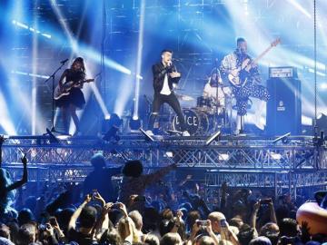 Celebración de los MTV Europe