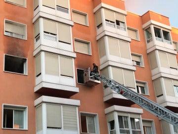 Un incendio en una residencia de San Sebastián de los Reyes