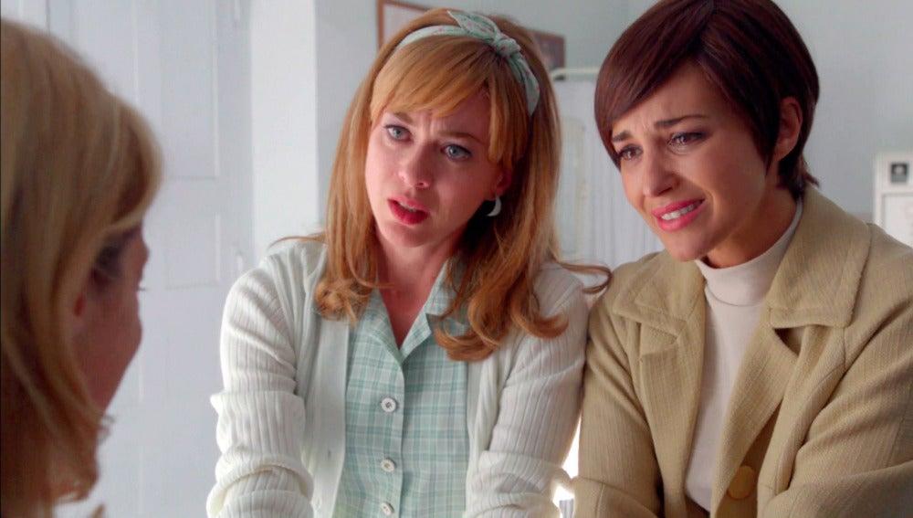 Rita se despide de Ana y de Clara antes de operarse