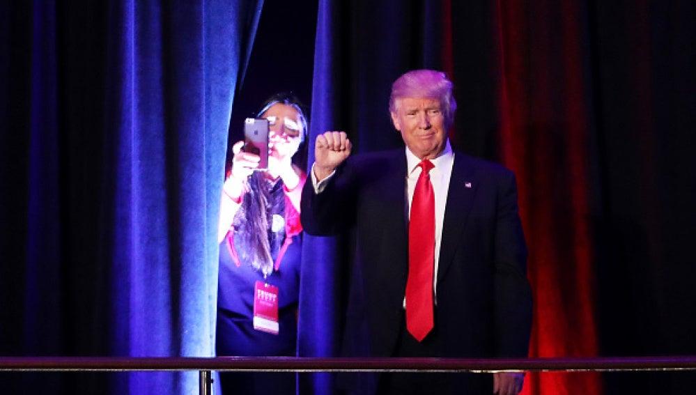Donad Trump, tras ganar las elecciones de Estados Unidos