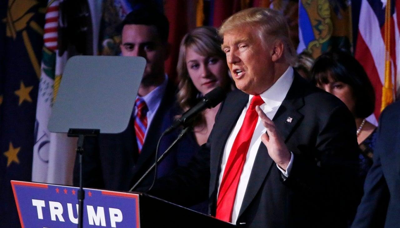 Comparecencia Donald Trump
