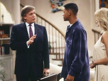 Donald Trump en 'El príncipe de Bel-Air'