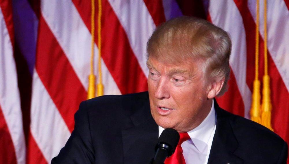 El presidente de Estados Unidos, Donald Trump