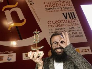 Alberto Montes del restaurante Atrio de Cáceres