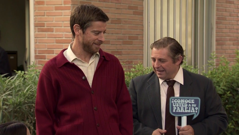 Marcelino celoso tras el premio televisivo de Manolita y Sebas