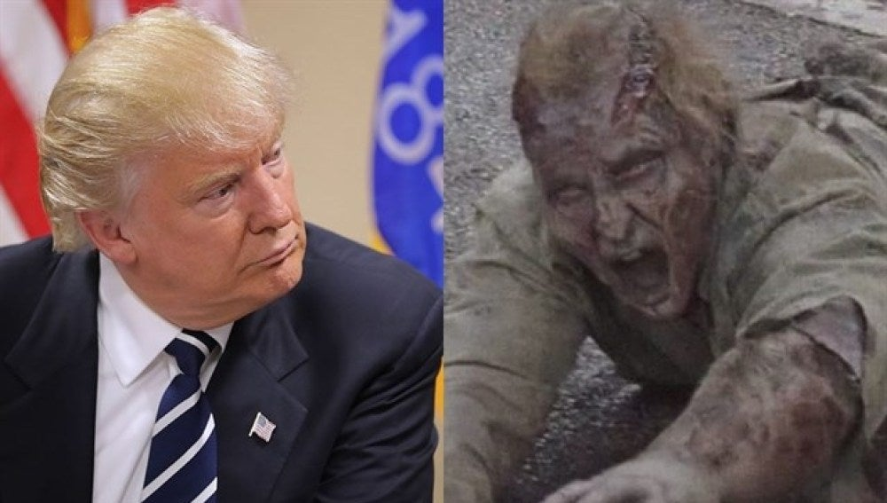 Donald Trump ¿cameo en 'The Walking Dead'?