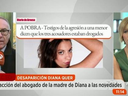 Antena 3 tv el an lisis de la graf loga la letra de for Espejo publico diana quer
