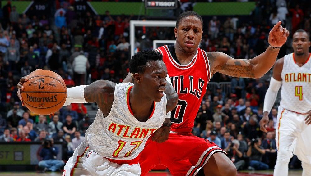 Los Bulls no pudieron ganar en casa a unos inspirados Hawks