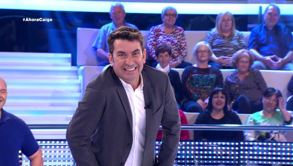 Arturo Valls revive el chiste del payaso