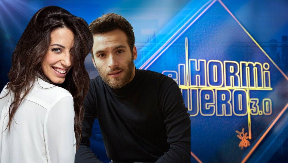 Los actores Ricardo Gómez y Almudena Cid visitarán 'El Hormiguero 3.0' el martes