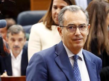 El portavoz del Grupo Palamentario del Popular en la Asamblea de Madrid, Enrique Ossorio