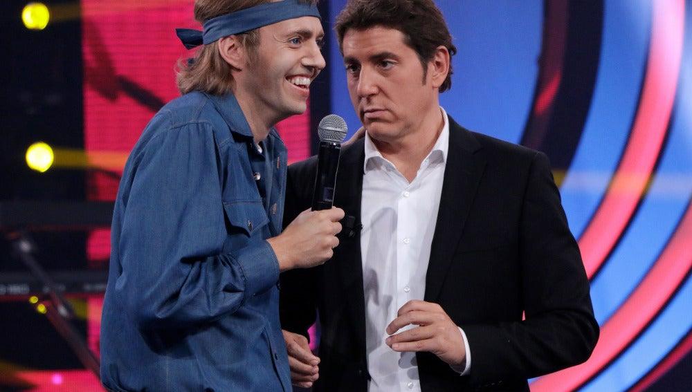 """Chenoa a David: """"Me ha gustado mucho la actuación"""""""