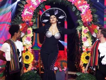 Rosa López derrocha 'Amor a la mexicana' sobre el escenario