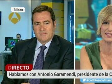 El presidente de CEPYME, Antonio Garamendi