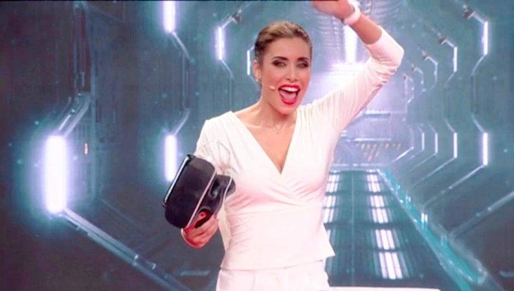 Pilar Rubio consigue superar su reto fallido en 'El Hormiguero 3.0'