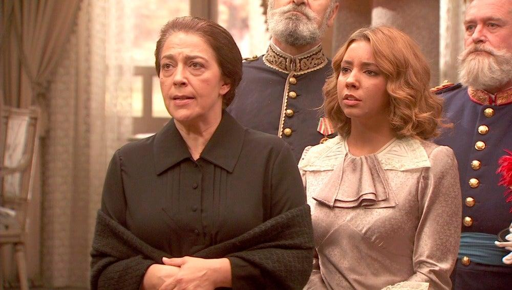 Francisca deja en evidencia a Cristóbal ante Primo de Rivera