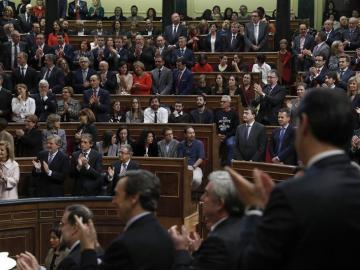 Diputados de Unidos Podemos en la Cámara Baja