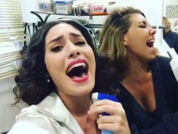 Yara Puebla y Sandra Cervera no pueden vivir sin Puente Viejo