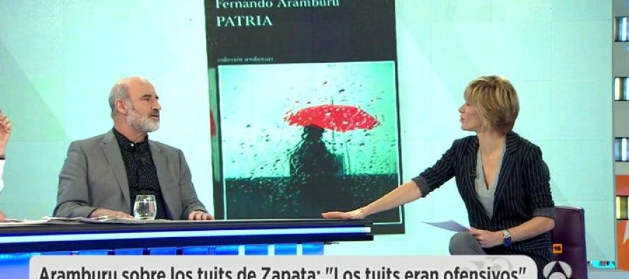 Antena 3 tv fernando aramburu si eta siguiera viva Ver espejo publico de hoy
