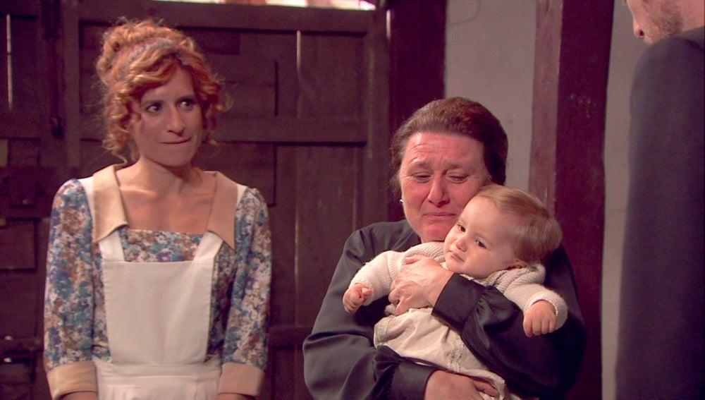 Rosario se vuelve a sentir abuela gracias a Nicolás
