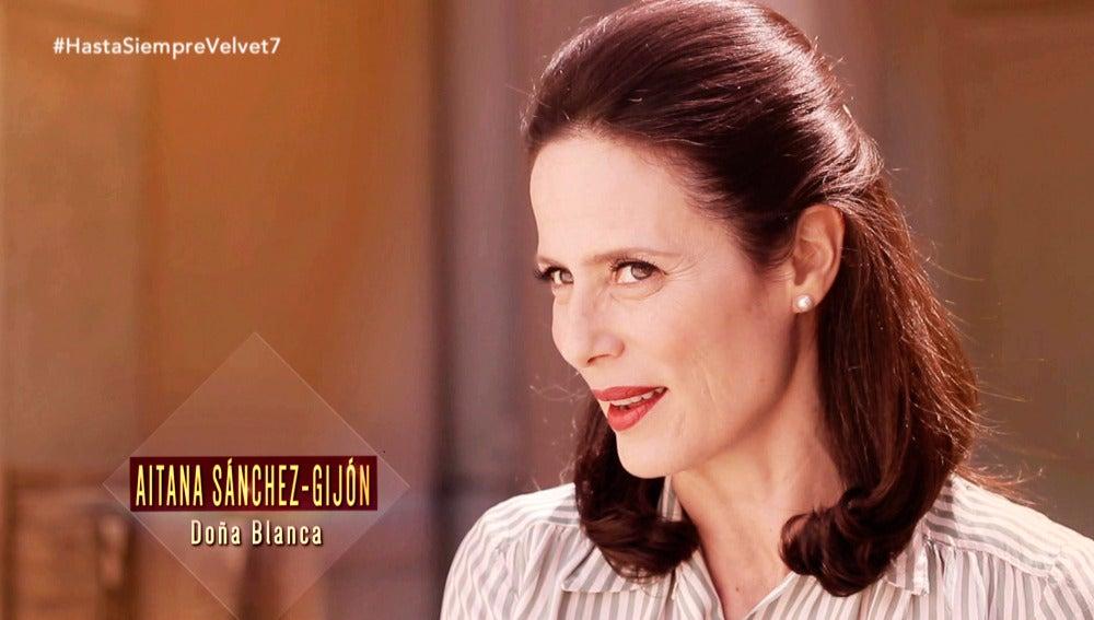 """Aitana Sánchez-Gijón: """"En el eje del mal vence el amor pese a estar completamente desatados"""""""