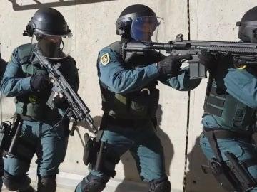 Mannequin Challenge de la Guardia Civil