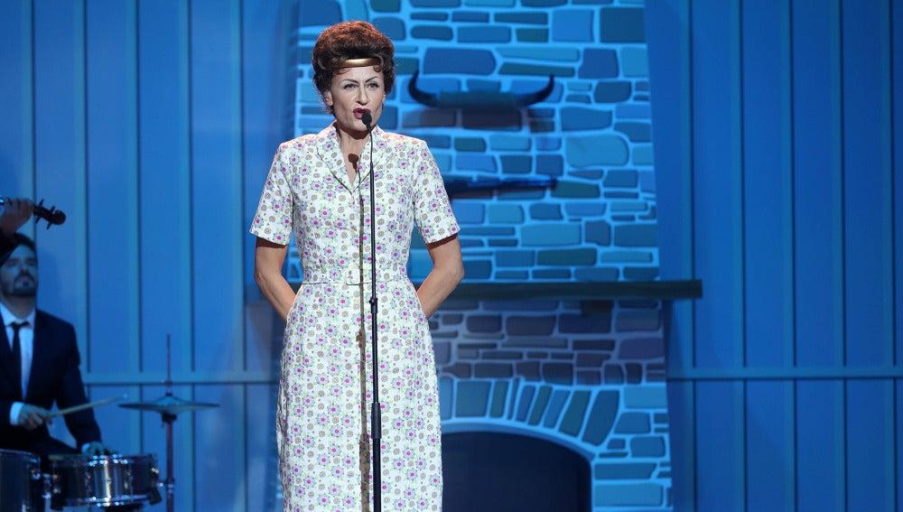 Esther Arroyo nos deja 'Crazy' como Patsy Cline