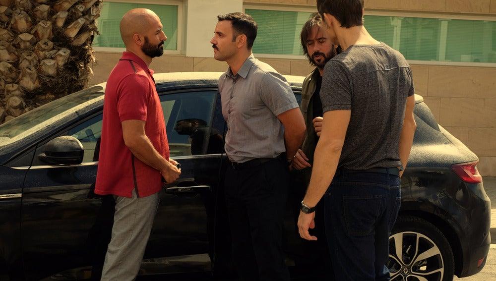 Pablo es detenido por su implicación en los negocios sucios de Rueda y Vlad