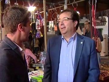"""Frame 52.405781 de: Fernández Vara: """"A los españoles les importa un carajo quién presida la comisión de Justicia"""""""