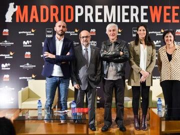 Acto de presentación de Madrid Premiere Week 2016