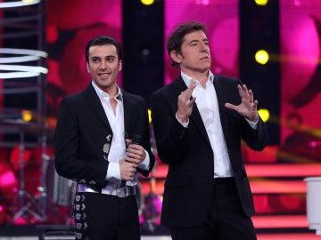 """Carlos Latre a Blas: """"Eres un pedazo imitador"""""""