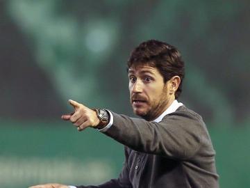 El entrenador del Betis, Víctor Sánchez del Amo.