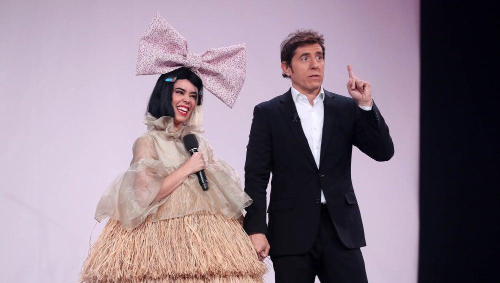 """Chenoa a Beatriz: """"Es una de las mejores actuaciones de 'Tu cara me suena'"""""""