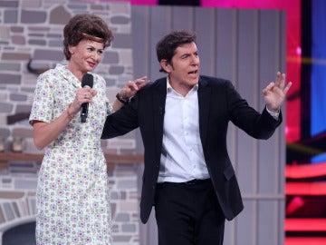 """Àngel Llàcer a Esther: """"Eres la más camaleónica de todos los concursantes"""""""
